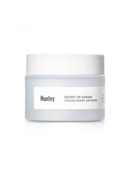 Освежающий крем с экстрактом кактуса Huxley Cream Fresh And More
