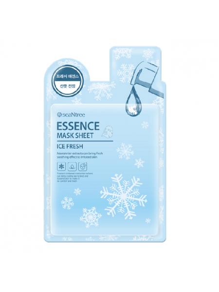 Охлаждающая тканевая маска для лица SeaNtree Ice Fresh Mask Sheet