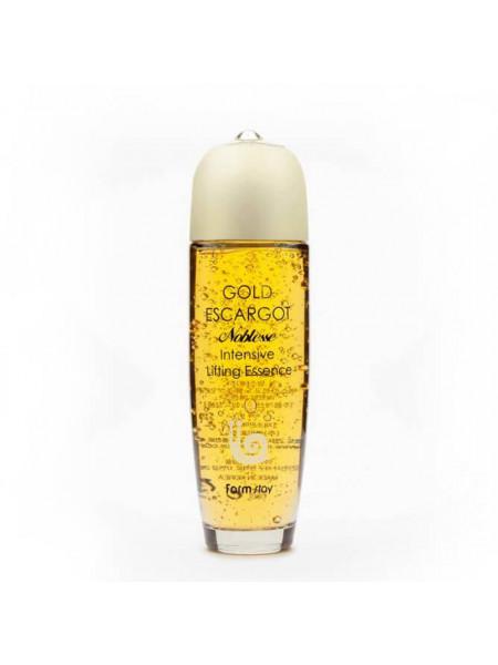 Лифтинг-эссенция для упругости кожи с муцином улитки Farmstay Gold Escargot Noblesse Intensive Lifting Essence