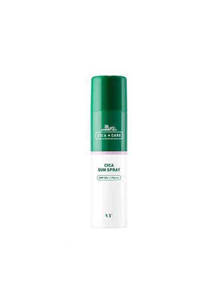Солнцезащитный спрей для чувствительной кожи VT Cosmetic Cica Sun Spray SPF 50+/PA+++