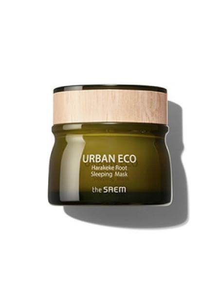 Питательная ночная маска с корнем новозеландского льна The Saem Urban Eco Harakeke Root Sleeping Mask