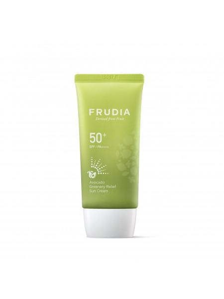 Солнцезащитный гель для жирной кожи Frudia Green Grape Sebum Control Cooling Sun Gel SPF50+/PA ++++