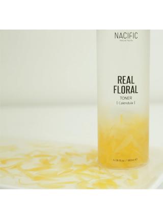 Тонер с лепестками календулы для чувствительной кожи NACIFIC Real Floral Toner Calendula