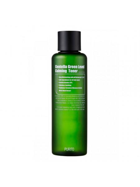 Бесспиртовый успокаивающий тонер с центеллой азиатской Purito Centella Green Level  Calming Toner
