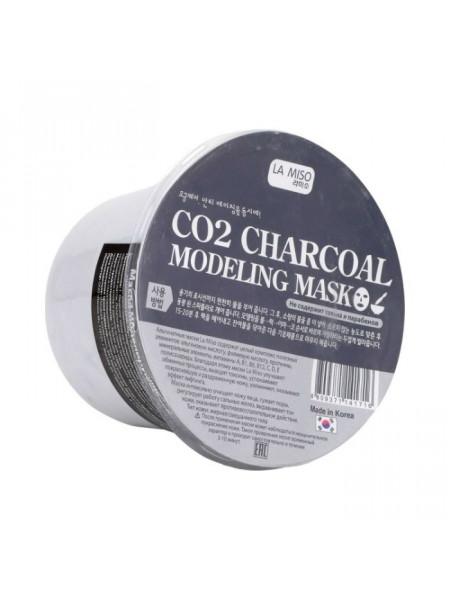 Альгинатная маска с углем для жирной и комбинированной кожи Modeling Mask Charcoal