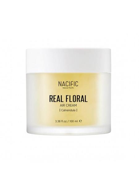Лёгкий гель-крем с лепестками календулы NACIFIC Real Floral Air Cream Calendula