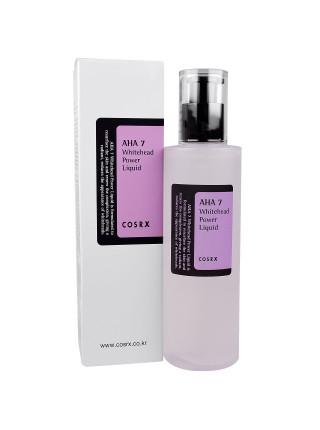 AHA-эссенция против белых угрей для проблемной кожи COSRX AHA 7 Whitehead Power Liquid