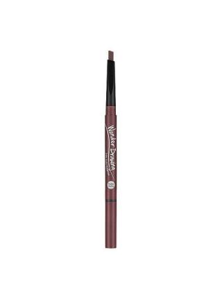 Автоматический карандаш для бровей с щеточкой Holika Holika Wonder Drawing 24hr Auto Eyebrow 01 Gray Black