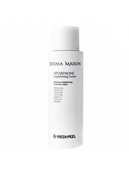 Витаминный тонер для выравнивания тона кожи MEDI-PEEL Derma Maison Vitabenone Brightening Toner