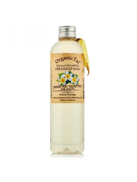 Безсульфатный шампунь для волос с маслом франжипани Natural Shampoo Frangipani