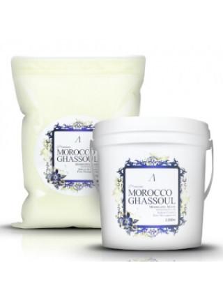 Альгинатная маска для жирной кожи с марокканской глиной Anskin Premium Morocco Ghassoul Modeling Mask — 1 кг (пакет)