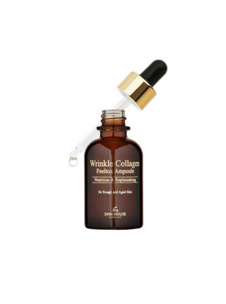 Коллагеновая сыворотка против морщин The Skin House Wrinkle Collagen Feeltox Ampoule