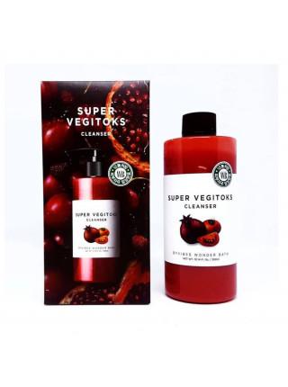 Осветляющее детокс очищение для лица Chosungah By Vibes Wonder Bath Super Vegitoks Cleanser Red