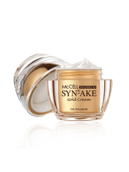 Антивозрастной пептидный крем с золотом Dr.Phamor McCell Skin Science 365 Gold Cream