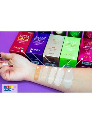 ББ-крем для нормальной и сухой кожи Skin79 Super Plus BB Cream Purple SPF40