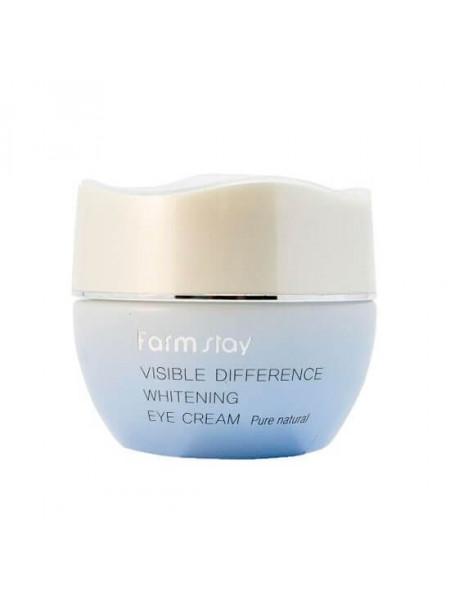 Осветляющий крем для кожи вокруг глаз FarmStay Visible Difference Whitening Eye Cream