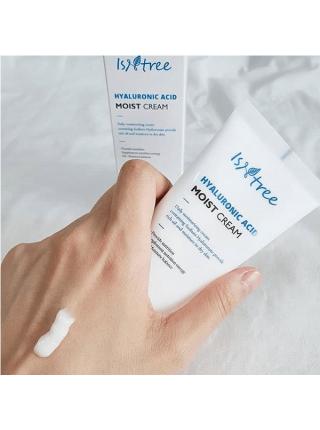 Крем для глубокого увлажнения кожи с гиалуроновой кислотой IsNtree Hyaluronic Acid Moist Cream