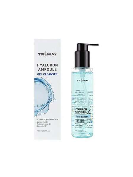 Очищающий гель с гиалуроновой кислотой Trimay Hyalurone Ampoule Gel Cleanser