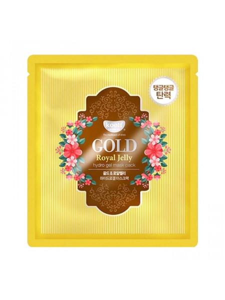 Гидрогелевая маска для лица с маточным молочком Gold Royal Jelly Hydro Gel Mask Pack 1pcs