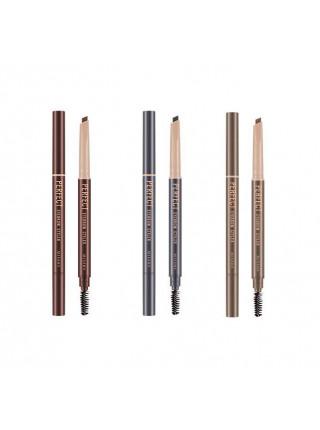 Автоматический карандаш для бровей Missha Perfect Eyebrow Styler — Brown