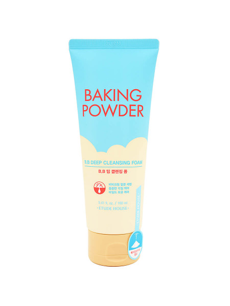Очищающая пенка для снятия ББ-крема с содой Etude House Baking Powder B.B Deep Cleansing Foam
