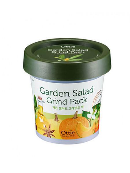 Глиняная маска для яркости тона кожи Ottie Garden Salad  Grind Pack