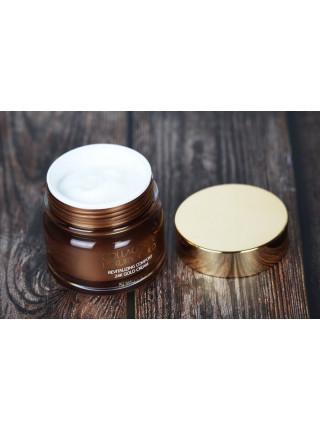 Крем для упругости кожи с коллагеном и золотом 3W CLINIC Collagen & Luxury Gold Cream