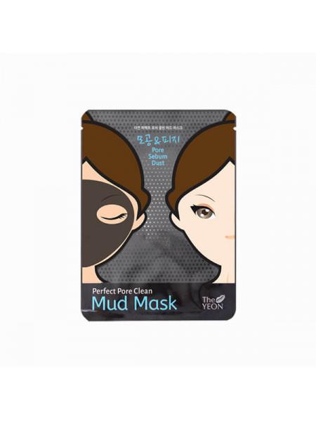 Очищающая грязевая маска для лица на 1 применение The Yeon Perfect Pore Clean Mud Mask