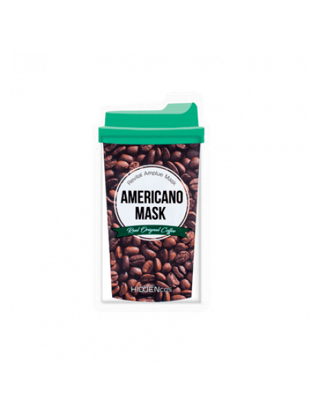 Питательная маска с экстрактом кофе Арабика Hiddencos Americano Mask