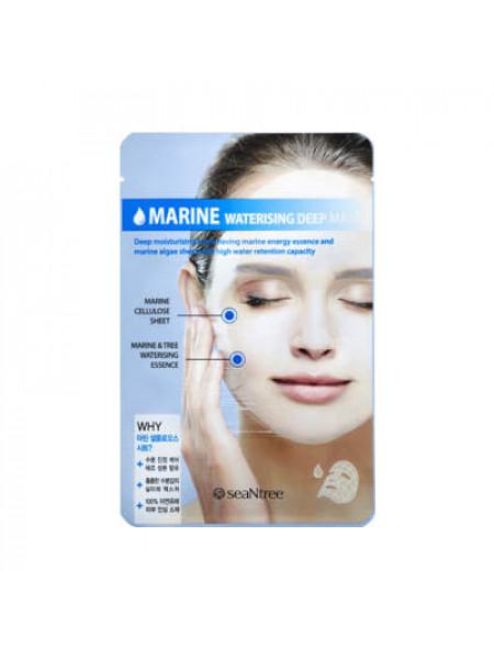 Глубоко увлажняющая тканевая маска Seantree Marine Waterizing Deep Mask