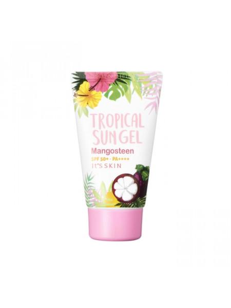 Солнцезащитный крем для лица SPF50+ PA++++ Tropical Sun Gel Mangosteen