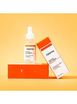 Сыворотка с ниацинамидом для выравнивания тона JsDerma Vitanate Vita-3 Serum