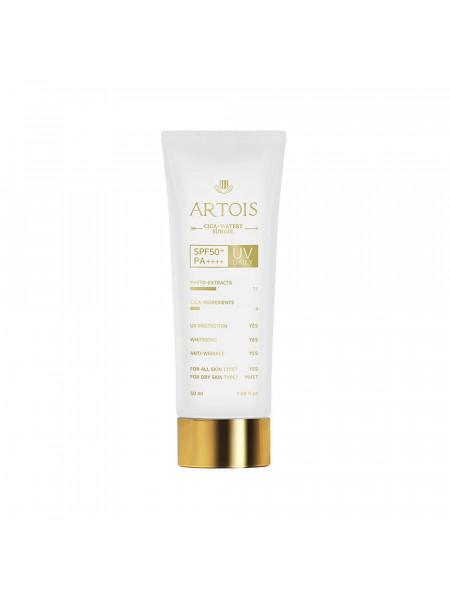 Солнцезащитный гель для чувствительной кожи 1004 Laboratory Artois Cica-Watery Sun Gel PA50++++