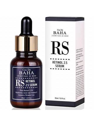 Омолаживающая сыворотка с ретинолом Cos De BAHA Retinol 2,5 Serum