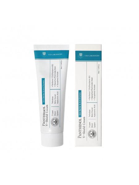 Восстанавливающий крем с пантенолом 1004 Laboratory Panthenol V-shield Cream