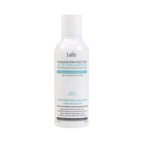 Защитный шампунь для поврежденных волос Lador Damage Protector Acid Shampoo - 1500 мл