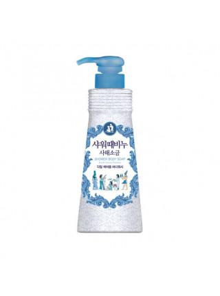 Бессульфатный гель-эксфолиант для душа с солью мёртвого моря Mukunghwa Dead Sea Salt With Fresh Ocean Perfume — 500 мл.