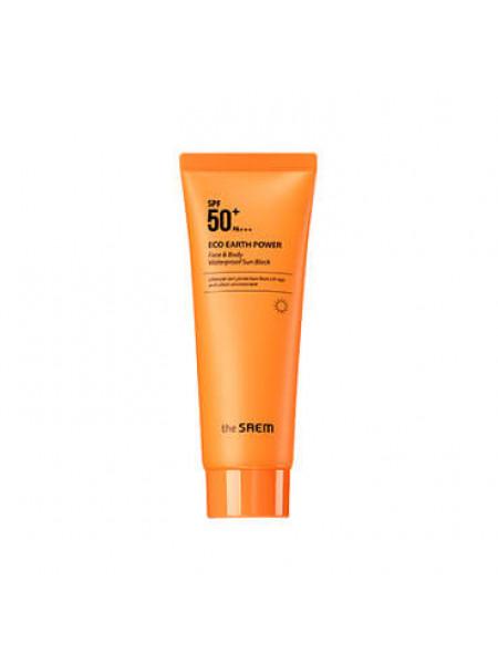 Водостойкий солнцезащитный крем для лица и тела The Saem Face & Body Waterproof Sun Block