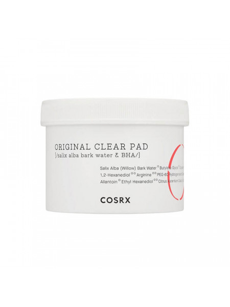 Очищающие пэды для лица с BHA-кислотой COSRX Original Clear Pad