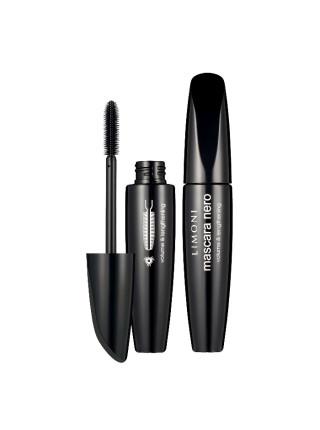 Тушь для ресниц , тон 01, черная Mascara Nero 01 black, супер объем и удлинение