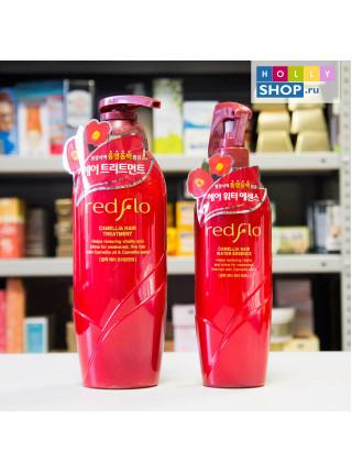Увлажняющий несмываемый флюид для волос Somang Redflo Camellia Hair Water Essense