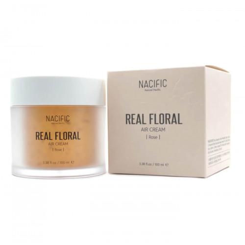 Лёгкий гель-крем с лепестками розы NACIFIC Real Floral Air Cream Rose