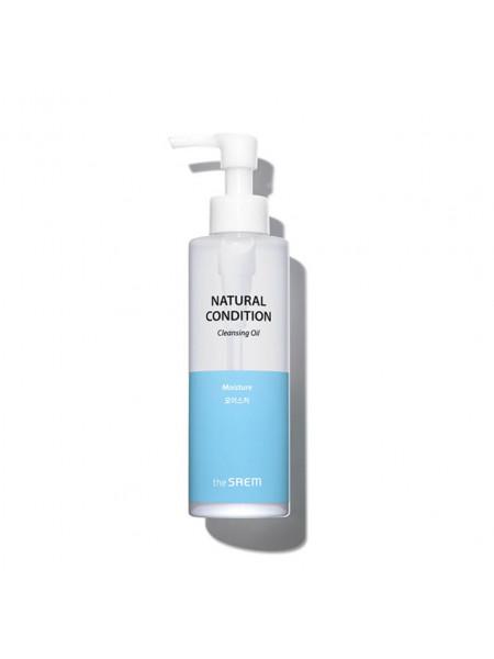 Гидрофильное масло для сухой кожи The Saem Natural Cleansing Oil Moisture