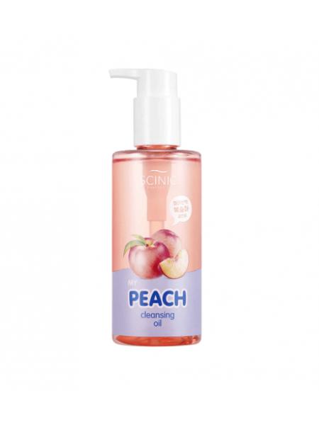 Гидрофильное масло с экстрактом персика Scinic My Peach Cleansing Oil