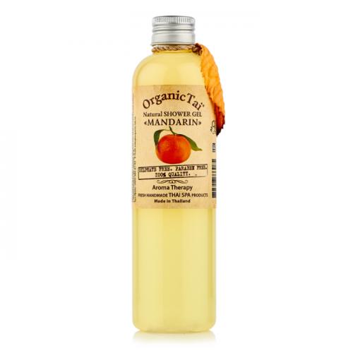 Безсульфатный гель для душа с мандариновым маслом Natural Shower Gel Mandarin