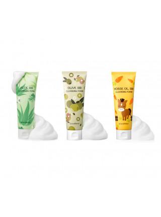 Кремовые пенки для умывания SeaNtree 100 Cleansing Foam - Пенка с алоэ (Aloe)