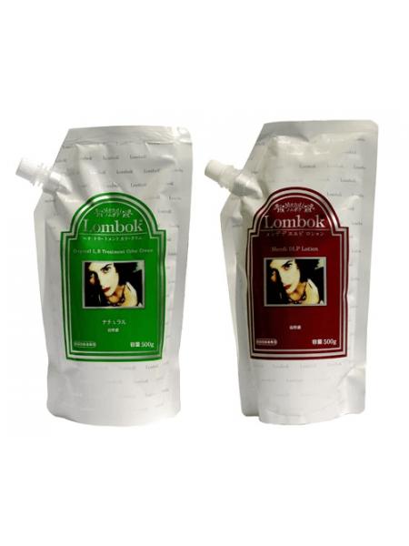 Cистема ламинирования волос Lombok Lentisk Treatment Color Cream Set