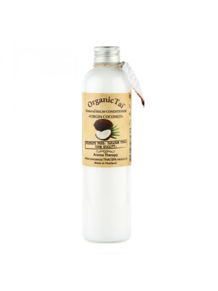 Безсульфатный бальзам-кондиционер с кокосовым маслом Natural Balm-Conditioner Virgin Coconut