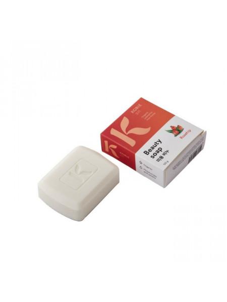 Увлажняющее мыло для лица и тела с экстрактом шиповника Beauty Soap Rosehip