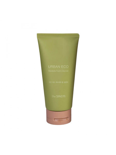 Пенка для умывания The Saem Urban Eco Harakeke Foam Cleanser с экстрактом льна